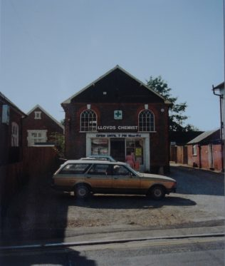 This chapel was built in 1868, and was being used as a chemist's shop when this photo was taken | Keith Guyler, 1989