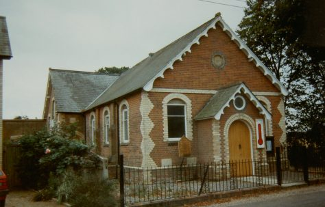 Bradfield Tutt's Clump Primitive Methodist chapel