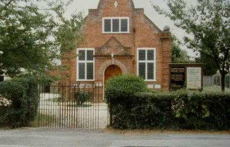 Burghfield Common Primitive Methodist chapel