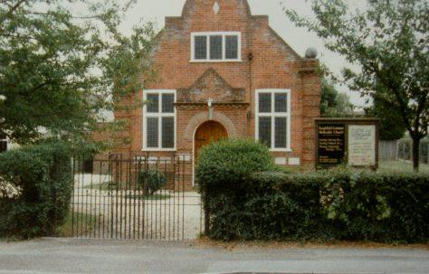 Burghfield Common Primitive Methodist chapel