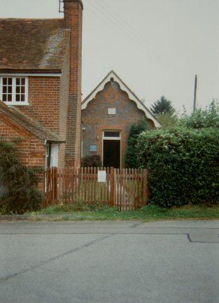 1864 Burnt Hill Zion Primitive Methodist chapel as it was in 1993. It seated 50. | Keith Guyler 1993