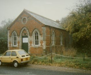 Gallowstree Common Primitive Methodist chapel | Keith Guyler 1989