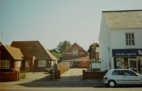 Earley Wokingham Road Primitive Methodist chapel