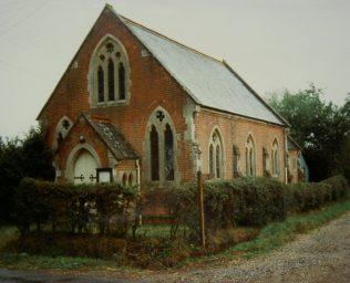 Baughurst Primitive Methodist chapel   Keith Guyler 1989