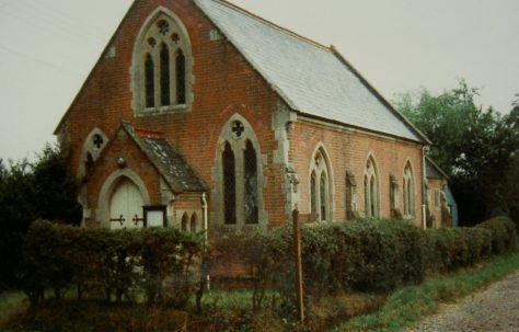 Baughurst Primitive Methodist chapel