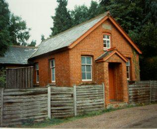 Haughurst Hill Primitive Methodist chapel | Keith Guyler 1989