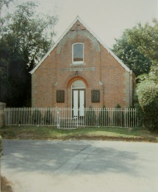 1867 Little London Primitive Methodist chapel in 1989. It seated 45 and closed in the 1980s. | Keith Guyler 1989