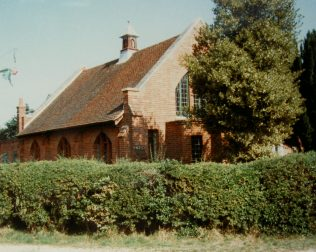 1927  Silchester Primitive Methodist Chapel as it was in 1989.
