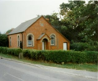 1864 Burghclere Primitive Methodist chapel as it was in 1989 | Keith Guyler 1989