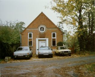 former Gore End Primitive Methodist chapel in use as offices in 1990 | Keith Guyler 1990