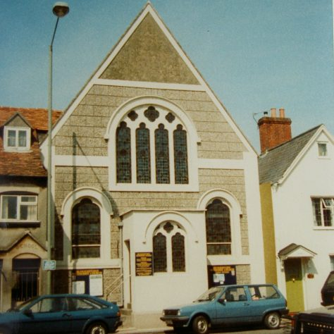 1869 Hungerford Primitive Methodist Church as it was in 1989.  It was rebuilt in 1907 | Keith Guyler 1989