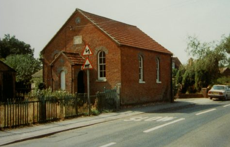 Wash Common Primitive Methodist chapel