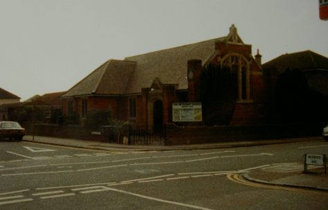Bournemouth Ensbury Park Primitive Methodist chapel