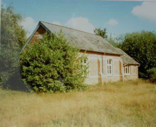 Three Legged Cross Primitive Methodist chapel   Keith Guyler 1990