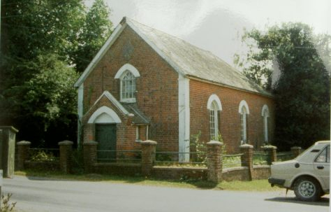 Wootton Primitive Methodist chapel