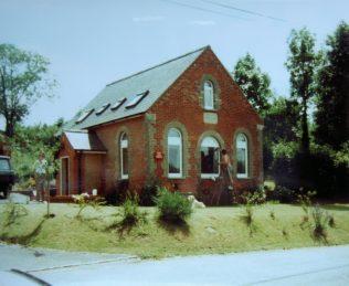 1896 East Chisenbury Primitive Methodist Chapel as it was in 1990 | Keith Guyler 1990