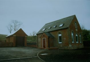East Chisenbury Primitive Methodist Chapel after conversion and before it was sold in 1990 | Keith Guyler 1990