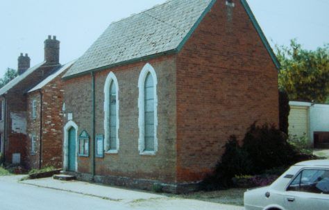 Damerham Primitive Methodist chapel