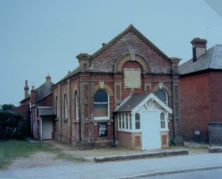 1884 Whaddon Primitive Methodist chapel as it was in 1988 | Keith Guyler 1988