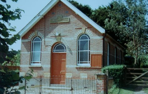 Whitsbury Primitive Methodist chapel