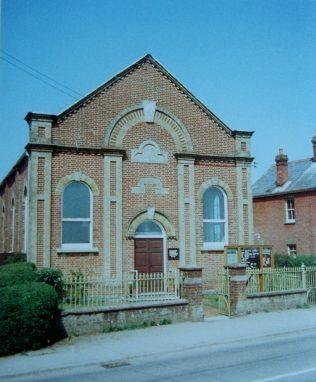 Woodfalls Primitive Methodist chapel 1874   Keith Guyler 1989