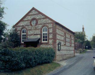 Woodyates Primitive Methodist chapel | Keith Guyler 1988