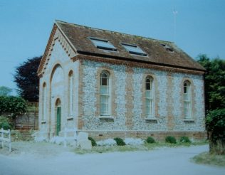 Tollard Royal Primitive Methodist chapel | Keith Guyler 1988