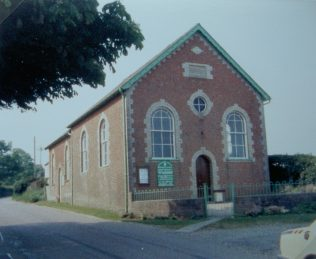 Hazelbury Bryan  Primitive Methodist chapel | Keith Guyler 1988