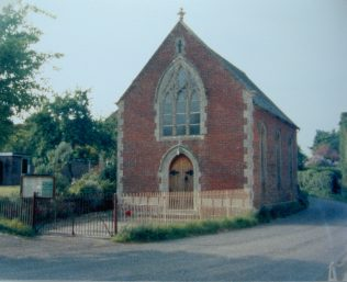 Shroton Primitive Methodist chapel | Keith Guyler 1988