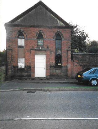 former Heather Primitive Methodist chapel in use as the church hall in 2000 | with kind permission of the Ibstock Historical Society; copyright remains with the original donor