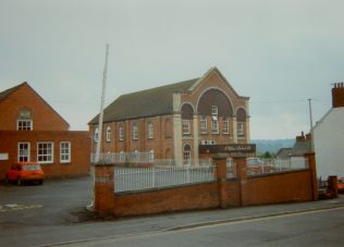 1871 Ludlow; Old Street Primitive Methodist Chapel as it was in 1993. It closed in the 1950s and became warehousing and by 1993 was offices | Keith Guyler 1993