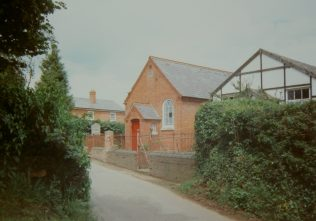 1845 Wyson Primitive Methodist Chapel, rebuilt in 1852, as it was in 1993 | Keith Guyler 1993