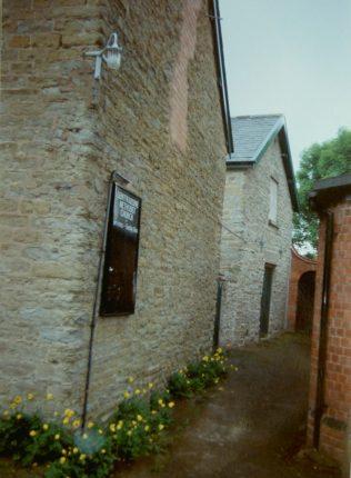 1841 Leintwardine Primitive Methodist Chapel as it was in 1993 | Keith Guyler 1993