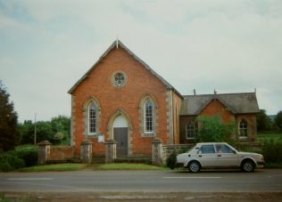 1966 Walford Primitive Methodist chapel as it was in 1993 | Keith Guyler 1993