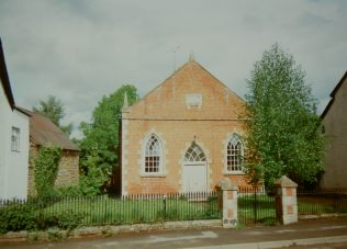1863 Wigmore Trinity Primitive Methodist Chapel as it was in 1993. It closed in the 1980s and was unused at the time of the picture. | Keith Guyler 1993