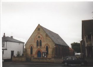 1878 North Ferriby Primitive Methodist Chapel as it was in 1999.  The chapel was formerly known as Ferriby | Keith Guyler 1999