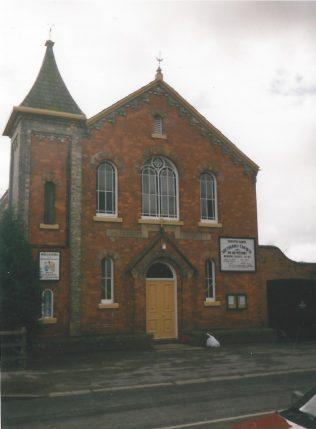 South Cave Primitive Methodist Chapel rebuilt in 1877, as it was in 1999   Keith Guyler 1999