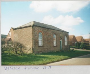 former Staxton Primitive Methodist chapel | Keith Guyler 2000