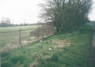 Photo 1. Remains of former Little Driffield Primitive Methodist chapel   Keith Guyler 2000