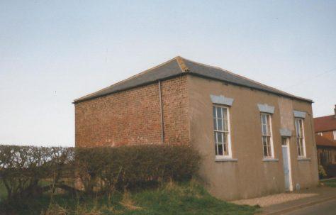 Bempton Primitive Methodist chapel