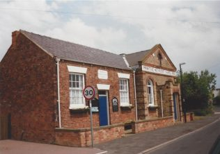 1862 Great Hatfield Primitive Methodist Chapel (formerly Station Road) as it was in 1997.  The 1901 extension is on the right. | Keith Guyler 1997