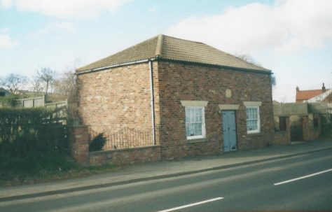 Flixton Primitive Methodist chapel