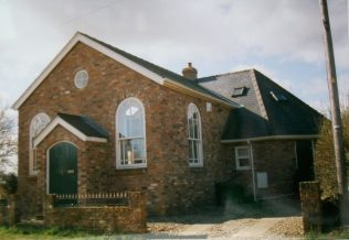 1869 Hotham Primitive Methodist Chapel as it was in 1999. It closed around 1989 and became a house. | Keith Guyler 1999