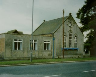 1857 Old Malton Primitive Methodist Chapel  as it was in 1992. It was extended in 1906. | Keith Guyler 1992