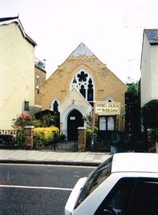 Barnes Primitive Methodist chapel   Keith Guyler 1994