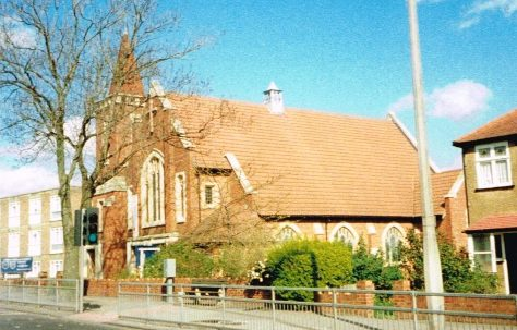 Worcester Park Primitive Methodist chapel