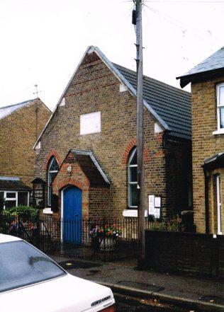 Eton Wick Primitive Methodist chapel | Keith Guyler 1994