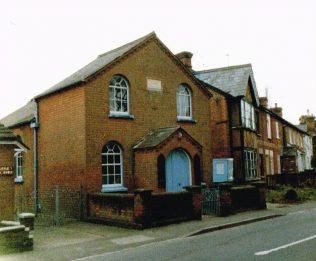 Winkfield Row Primitive Methodist chapel | Keith Guyler 1989