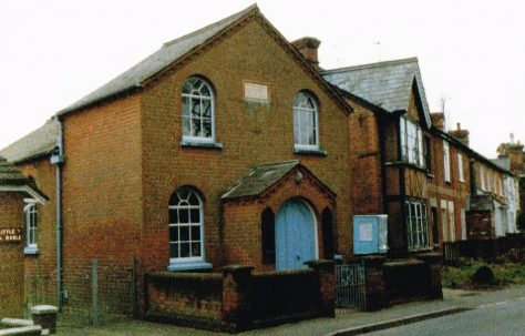 Winkfield Row Primitive Methodist chapel