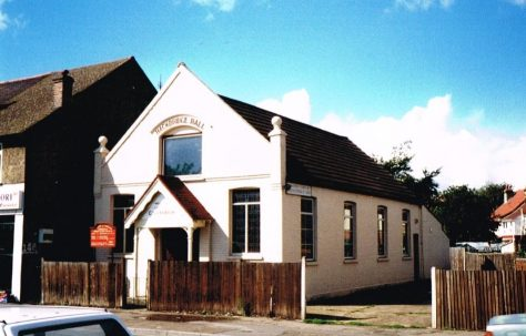 Hackbridge Primitive Methodist chapel